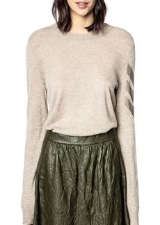 Zadig & Voltaire Miss Arrow Rhinestone Sweater
