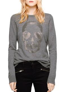 Zadig & Voltaire Miss Bis Embellished Cashmere Sweater