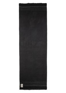 Zadig & Voltaire Orely Metallic-Stripe Scarf