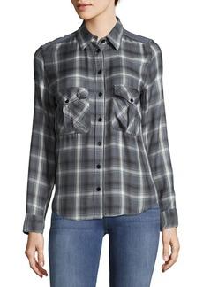 Zadig & Voltaire Plaid Button-Down Shirt
