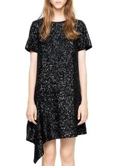 Zadig & Voltaire Racine Deluxe Sequined Dress