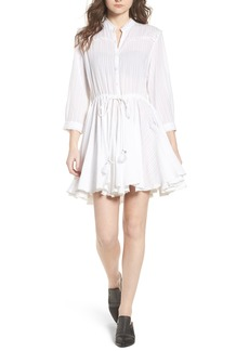 Zadig & Voltaire Ranil Textured Fit & Flare Dress