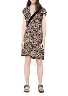 Zadig & Voltaire Ringo Leopard-Printed Dress