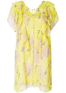 Zadig & Voltaire Rivel Blossom dress - Yellow & Orange