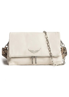 Zadig & Voltaire Rocky Grained Leather Crossbody
