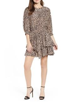 Zadig & Voltaire Rooka Leopard Print Dress