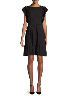 Zadig & Voltaire Rousseau Ruffle Flare Dress
