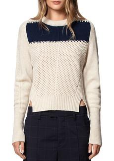 Zadig & Voltaire Rozenn Wool & Cashmere Sweater