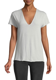 Zadig & Voltaire Story Short-Sleeve Fishnet Butterfly Tee