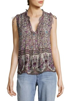 Zadig & Voltaire Thym Print Blouse