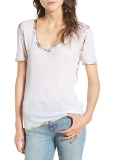 Zadig & Voltaire Tino Foil Tee