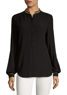Zadig & Voltaire Tinon Long-Sleeve Blouse