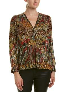Zadig & Voltaire Toumi Silk-Blend Printed Tunic