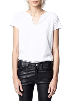 Zadig & Voltaire Tunisen MC Photoprint Tee
