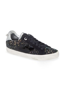 Zadig & Voltaire Used Glitter Lace-Up Sneaker (Women)