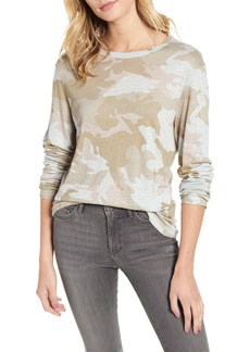 Zadig & Voltaire Willy Camouflage Linen Tee