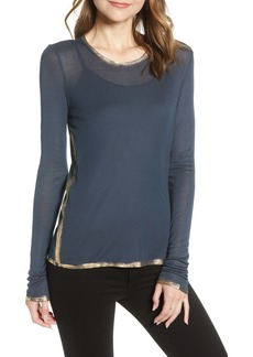 Zadig & Voltaire Willy Gold Foil Tee
