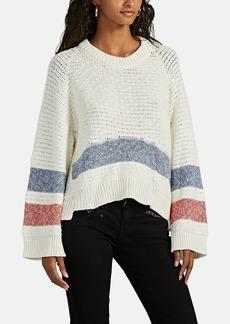 Zadig & Voltaire Women's Bea Striped Cotton Sweater