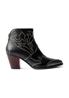 Zadig & Voltaire Women's Cara Studded Ankle Booties