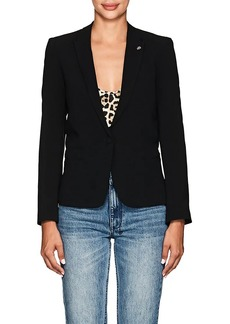 Zadig & Voltaire Women's Crepe One-Button Blazer