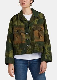 Zadig & Voltaire Women's Kaleno Camouflage Cotton-Linen Jacket