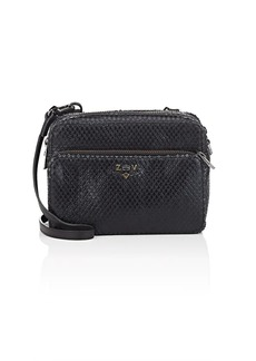 Zadig & Voltaire Women's Keith XL Snake-Embossed Leather Camera Bag