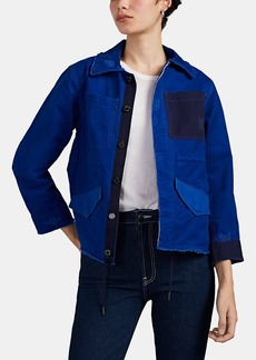 Zadig & Voltaire Women's Kimi Colorblocked Cotton Field Jacket