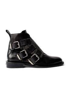 Zadig & Voltaire Women's Laureen Studded Leather Ankle Booties