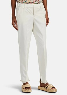 Zadig & Voltaire Women's Prune Frange Cotton-Linen Trousers