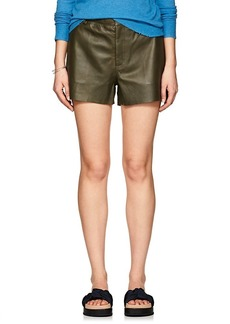 Zadig & Voltaire Women's Samos Leather Shorts