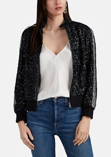 Zadig & Voltaire Women's Sequined Bomber Jacket