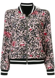 Zadig & Voltaire zipped bomber jacket - Black