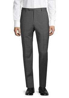 Zanella Checkered Wool Pants