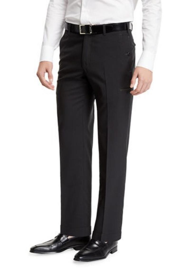 Zanella Flat-Front Travel Trousers