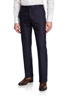 Zanella Men's Cashmere Tapered Trousers