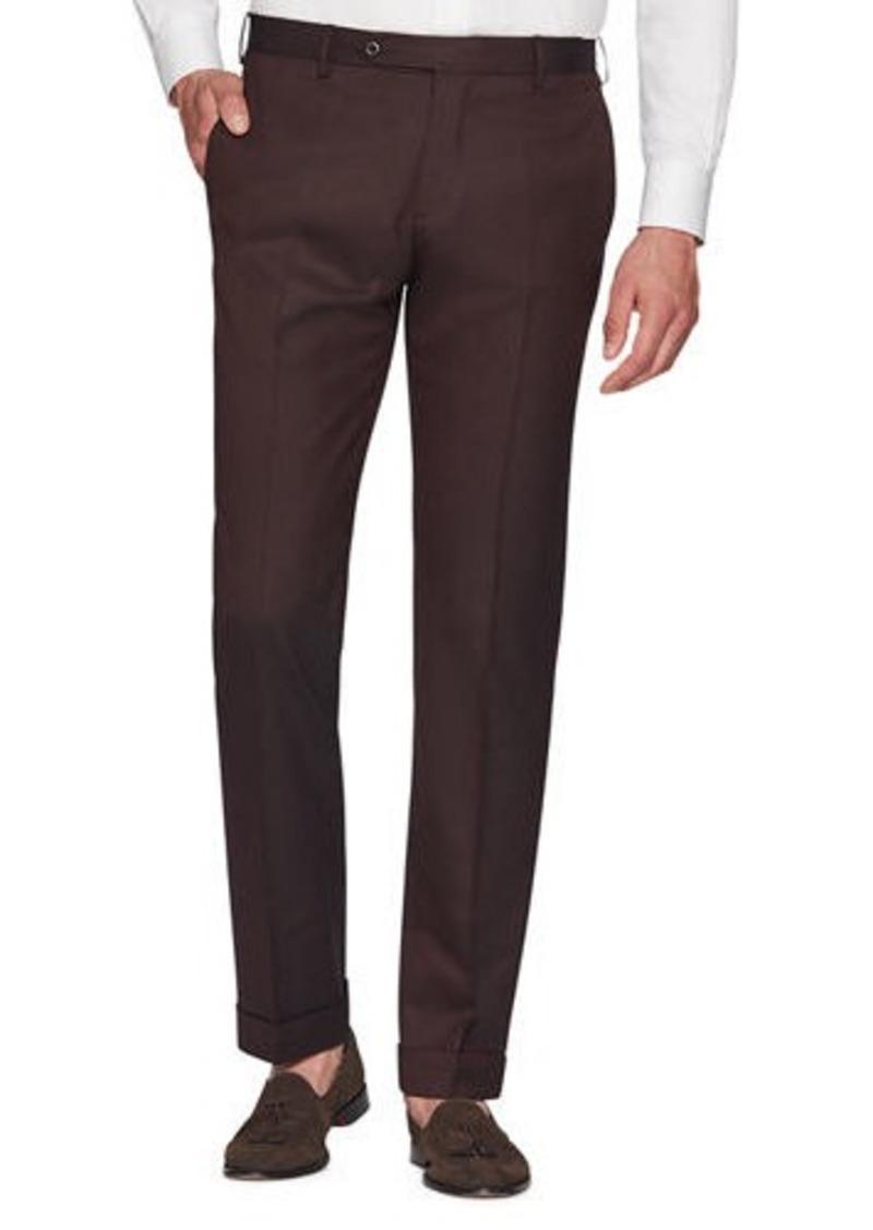 Zanella Men's Parker Covert-Stretch Twill Trousers
