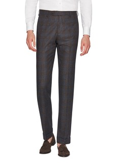 Zanella Men's Parker Dream Tweed Flat-Front Trousers