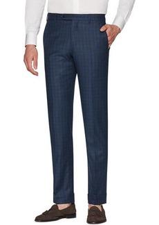 Zanella Men's Parker Flannel District Check Wool Pants