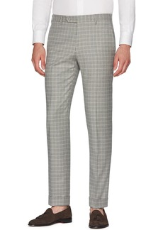 Zanella Men's Parker Flannel District Check Wool Pants