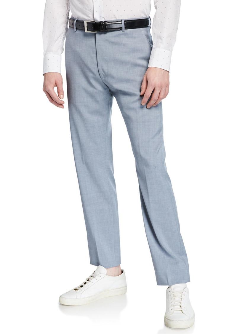 Zanella Men's Tropical Wool Crop Pants
