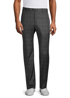 Zanella Parker Wool Checker Pants