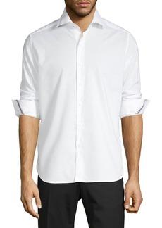 Zanella Textured Long-Sleeve Shirt