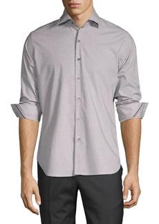 Zanella Varazze Printed Cotton Sport Shirt
