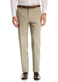 Zanella Wool/Linen Stretch Trousers