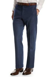 Zanella Wool/Linen Stretch Trousers