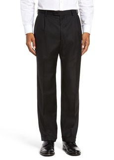 Zanella Bennett Regular Fit Pleated Trousers