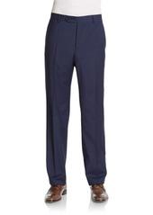 Zanella Devon Plaid Wool Pants