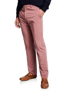 Zanella Men's Garment Dye Stretch Poplin Pants