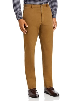 Zanella Noah Garment-Dyed Brushed Slim Fit Dress Pants