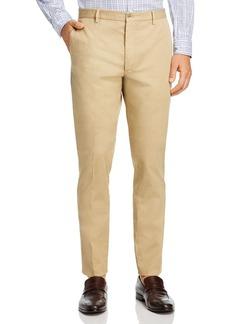 Zanella Noah Garment Dyed Cotton/Linen Stretch Slim Fit Pants